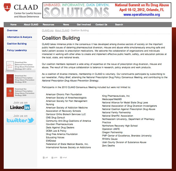 CLAAD - Coalition Building