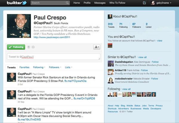 Paul Crespo - Twitter